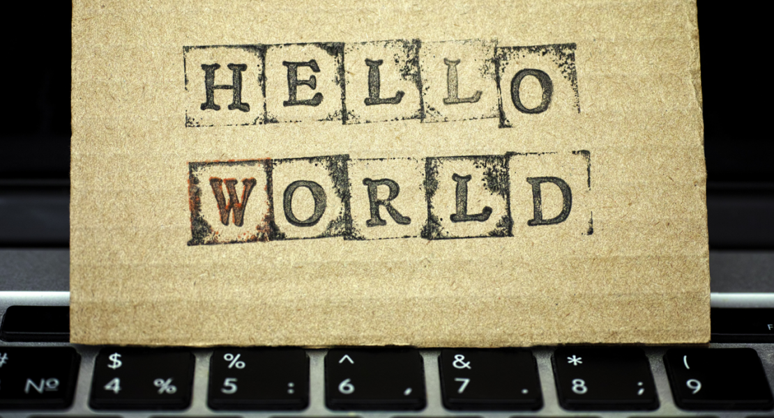 """Hello World"" notecard"